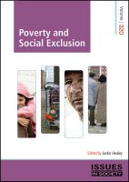 Volume 320 - Poverty and Social Exclusion @thespinneypress #thespinneypress #spinneypress #issuesinsociety #poverty #socialexclusion