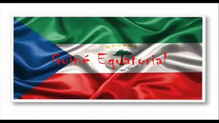países hispanohablantes - nombres y banderas