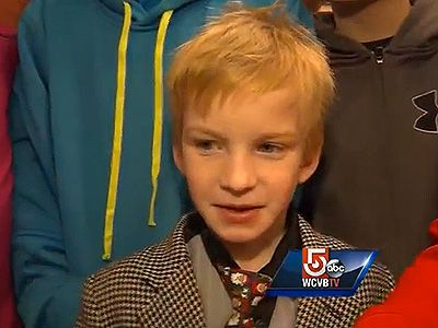 WATCH: Students Stand Up for Bullied Classmate. A group of elementary school students from Bridgewater, Mass., made a heartwarming gesture when they learned one of their schoolmates was being bullied, reports Boston TV station WCVB. Williams Intermediate School first-grader Danny Keefe suffered a brain hemorrhage after he was born, which resulted in speech issues the 6-year-old continually works to overcome with speech therapy.