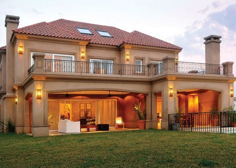 25 melhores ideias sobre casas estilo toscana no for Casas estilo frances clasico