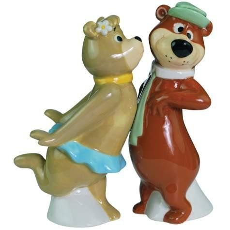 4.25 inch Cindy And Yogi Bear Kissing Cartoon Salt And Pepper Shakers by WL. $12.95. This gorgeous 4.25 inch Cindy And Yogi Bear Kissing Cartoon Salt And Pepper Shakers has the finest details and highest quality you will find anywhere! 4.25 inch Cindy And Yogi Bear Kissing Cartoon Salt And Pepper Shakers is truly remarkable.4.25 inch Cindy And Yogi Bear Kissing Cartoon Salt And Pepper Shakers Details:Condition: Brand NewItem SKU: SS-WL-22601Dimensions: H: 4.25 (Inches)