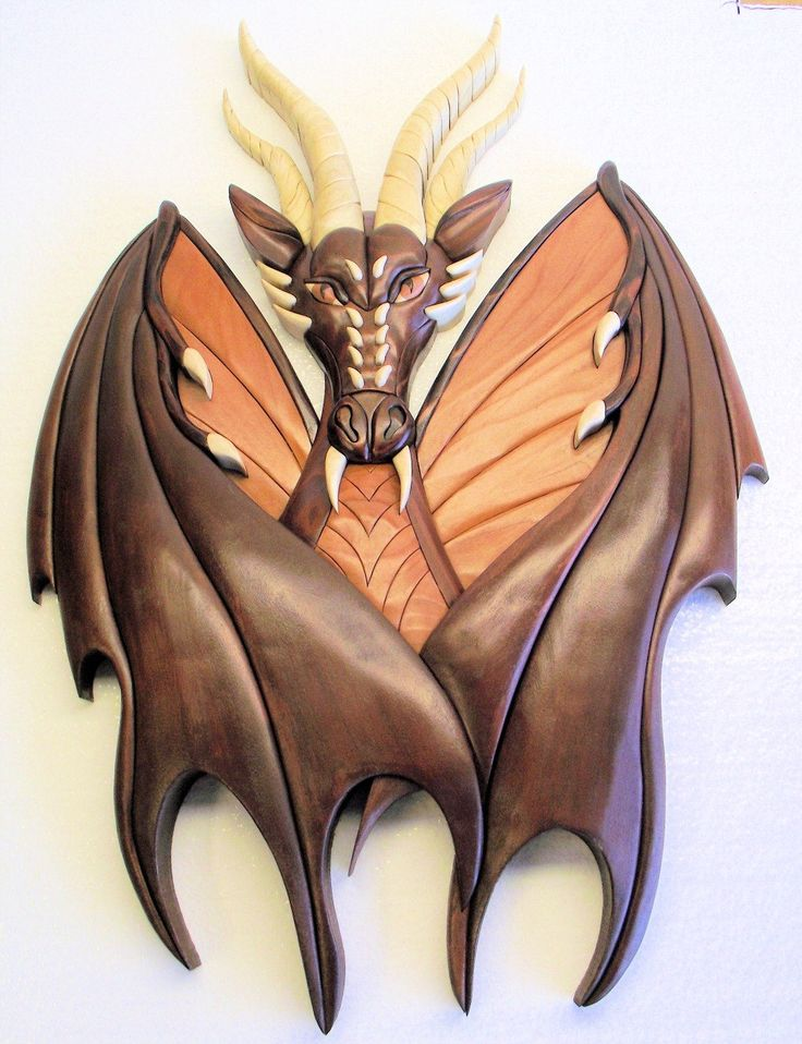 Wood carving patterns dragons woodworking projects plans