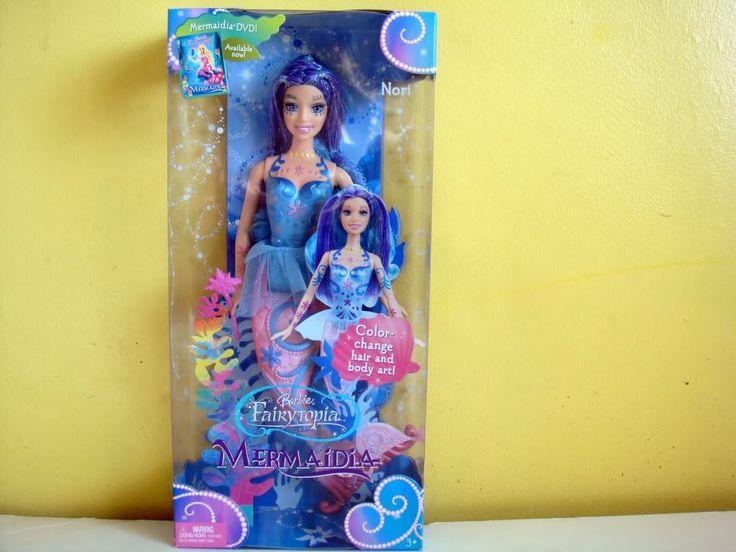 Barbie Mermaidia Dolls | Disney Barbie Mermaidia Colour Change Nori Doll Rare Retired, Toys