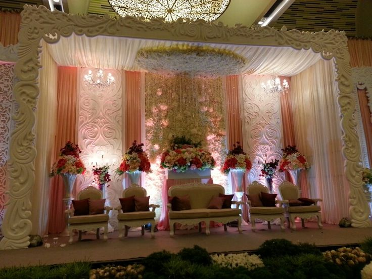 The wedding bed.