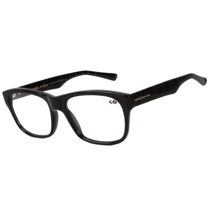 Lv Ac 0345 0165 Armacao Para Oculos De Preto Mesclado
