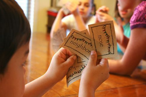 What's Your Favorite Blessing Game - Played like Whoonu the purpose of the game is to help your kids recognize everyday blessings and learn to value them. A fun game to play with the whole family this Thanksgiving!