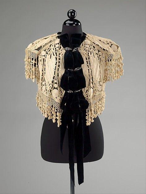 Afternoon Jacket Jacques Doucet, 1905 The Metropolitan Museum of Art