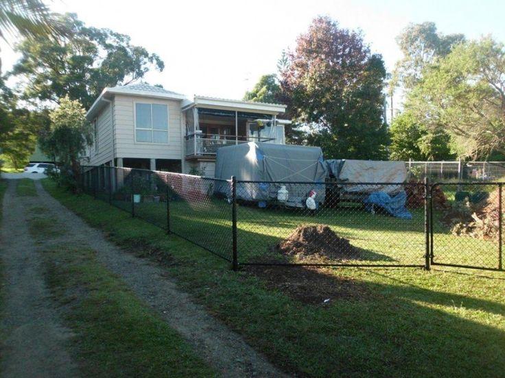 Black Chainwire Fencing -