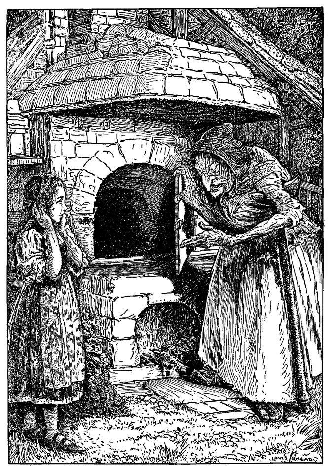 """Creep in,"" said the Witch, ""and see if it is properly hot"" Hansel and Gretel…"