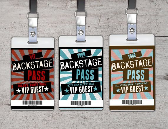 The 12 best FMP Vip pass designs images on Pinterest | Vip pass ...