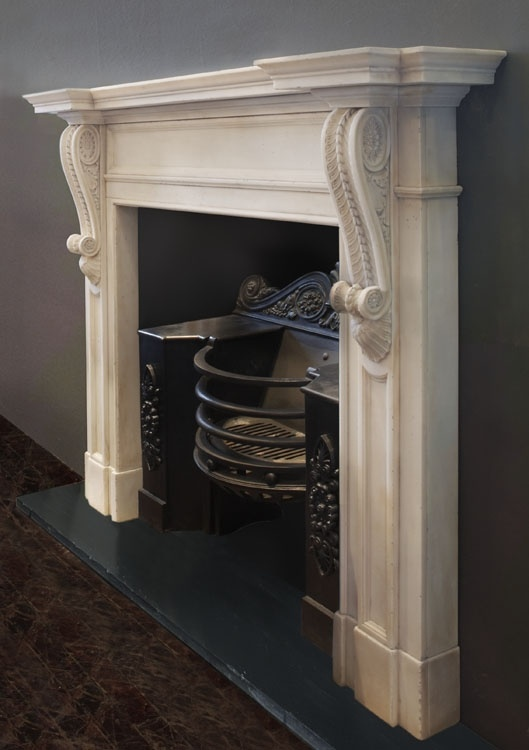 Renaissance London - Leading suppliers of Antique Fireplaces, Stone Fireplaces, Marble Fireplaces, Victorian Fireplaces, Mantels, Georgian Fireplaces, Contemporary Stone Fireplaces - Bespoke Adam style corbel