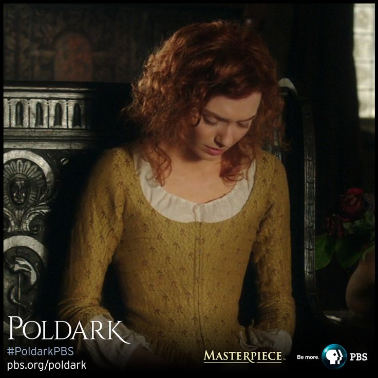 Eleanor Tomlinson as Demelza in Sunday Best dress, made from silk and wool woven fabric. | Poldark, as seen on Masterpiece PBS
