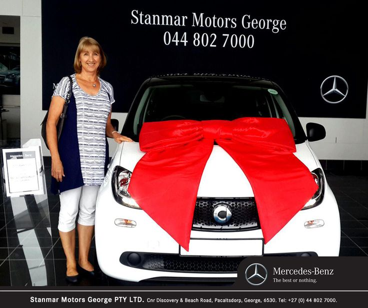 Congratulations to Mrs. Ingrid Cyrolies on purchasing her new #SmartForFour. We thank you and wish you many happy miles ahead from #TeamStanmar, sold by Anthon - 044 802 7000.  LikeCommentShare 2 2 Comments