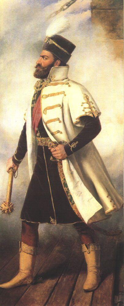 Szapolyai János a Magyar Királyság királya, erdélyi vajda - uralkodott 1526–1540