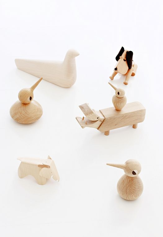 Architect Made Birds by Kristian Vedel