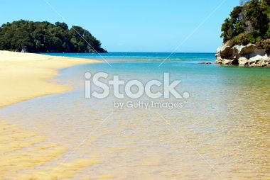Kaiteriteri Inlet, Nelson, New Zealand Royalty Free Stock Photo