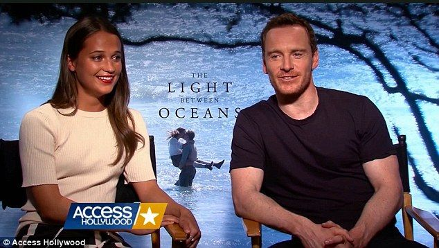 On-screen and off-screen romance: Michael Fassbender and Alicia Vikander fell in love during filming of The Light Between Oceans and they…