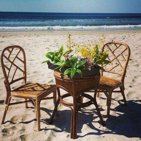 Signing table - Jireh & Sho's Belongil Beach wedding.  #weddings #weddingstyle #byronbayweddings #beachweddings #tablescape