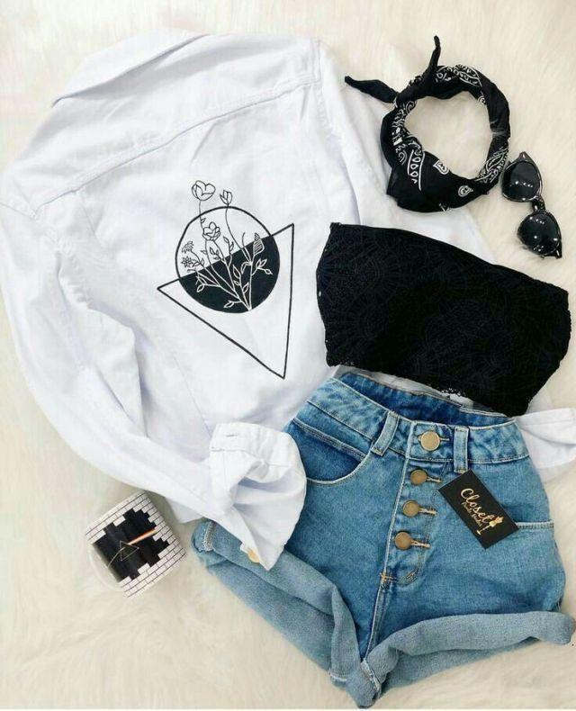 InterestPinterest: Yasmin Inaiê Inspiration de la mode / Tumblr / Mode / Placar…
