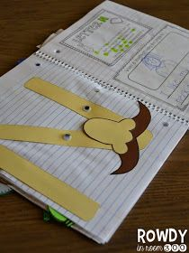 Interactive alphabet notebook!  Crafts, poetry, and open ended response questions! #readersnotebook