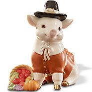 852399-Thanksgiving Pig Figurine