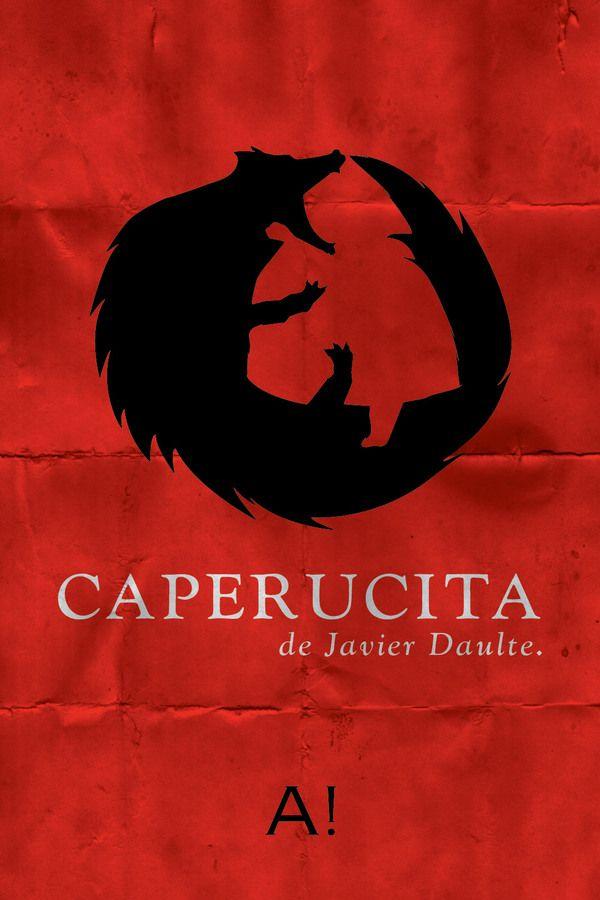 Caperucita de Javier Daulte | Little Red Riding Hood by Pablo Gauthier, via Behance