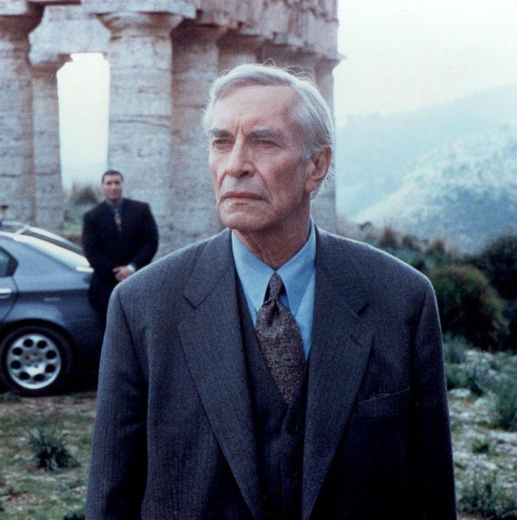 "Martin Landau en ""Joseph Bonanno, la historia de un padrino"" (Bonanno: A Godfather's Story), 1999"