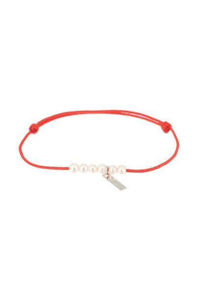 Bracelet rang de perles Little treasures Bordeaux Claverin sur MonShowroom.com