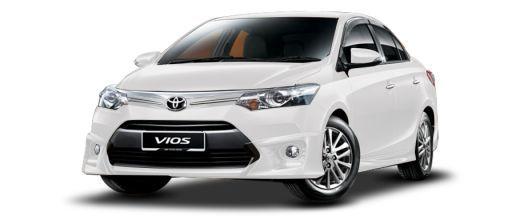 Các dòng xe Toyota: Toyota Vios - Tiết kiệm, Hiệu quả