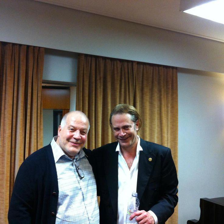 STEFANOS KORKOLIS with his record producer Haydn Bendall