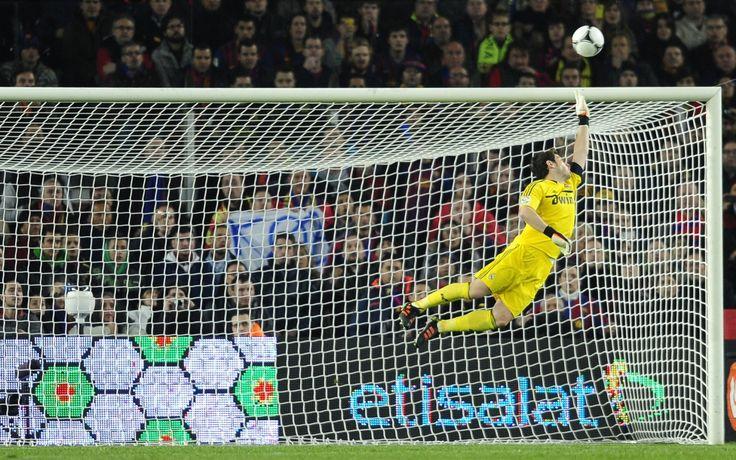@Casillas #save #dive #9ine