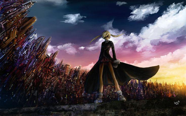 Maka albarn wallpaper maka albarn soul eater anime death - Anime scythe wallpaper ...