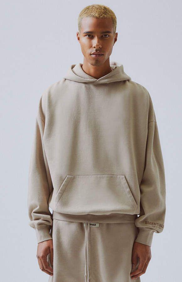 Fog Fear Of God Fog Fear Of God Essentials Pullover Hoodie Shop Now Hoodies Streetwear Men Outfits Hoodies Shop
