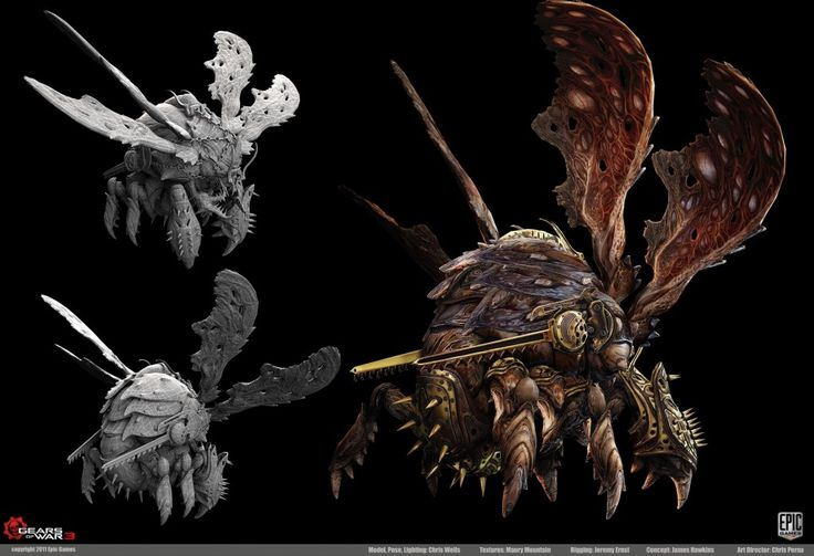 Gears of War 3 Character Art Dump at ZBrush Central   Epic Games Community