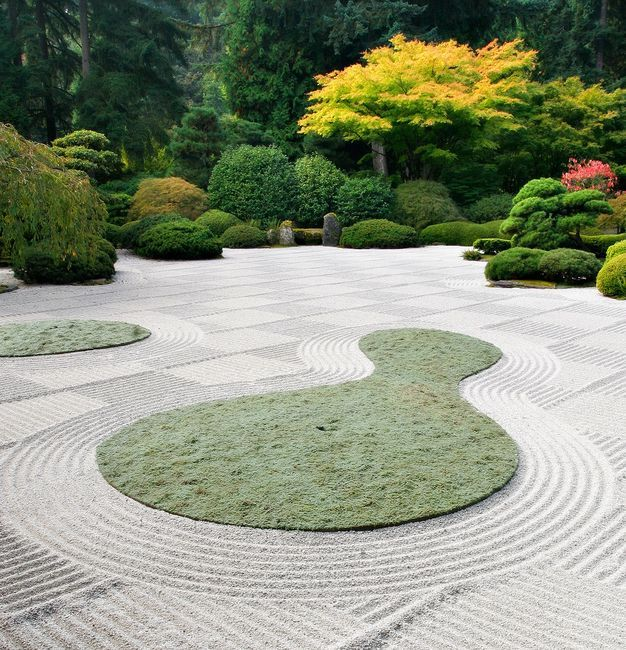 Duży ogród japoński
