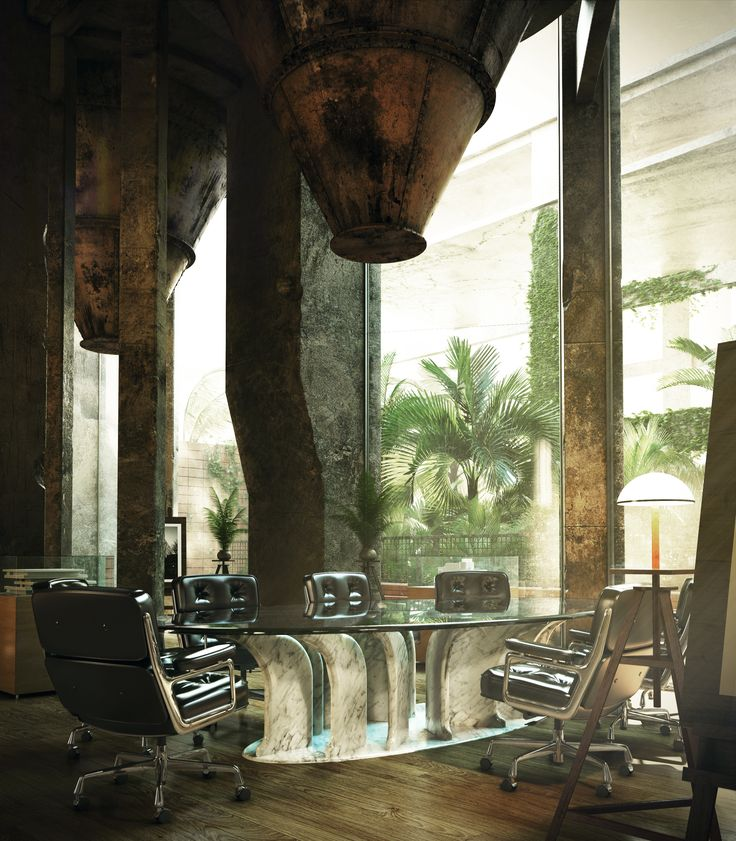 Conferential Stone Table by MGM PROJECT Grzegorz Majka
