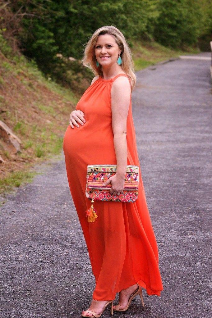 spring maternity looks