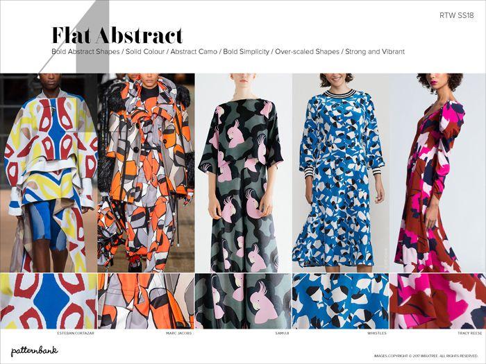 Patternbank Spring/Summer 2018 Catwalk Print & Pattern Trend Report