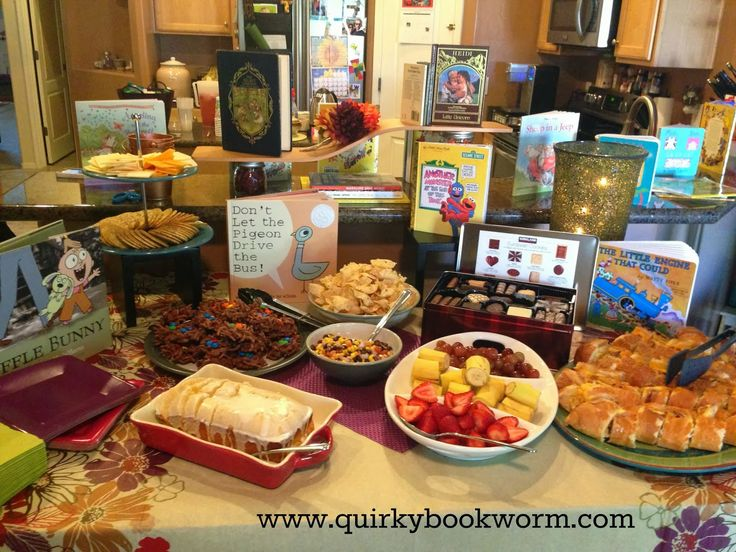Quirky Bookworm: How To Have A Gorgeous Book Themed Baby Shower