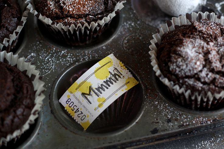 """""""the best chocolate muffin you'll ever eat"""", oder {Schokoladen-Pudding-Muffins} -reloaded!"""