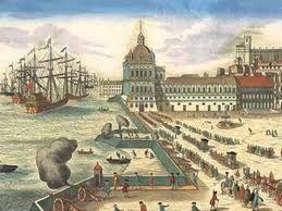02 – En 1476 naufragó una flota genovesa en la que viajaba Cristóbal Colón, al ser atacada por corsarios franceses cerca del cabo de San Vicente (Portugal); desde entonces Colón se estableció en Lisboa como agente comercial de la casa Centurione, para la que realizó viajes a Madeira, Guinea, Inglaterra e incluso Islandia (1477).