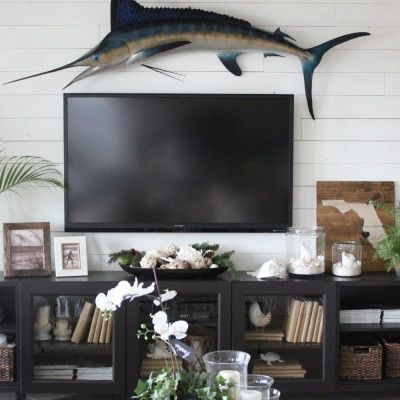 2566856a6935ed36b99d456147c20530 tv entertainment centers coastal christmas 3942 best coastal home~ images on pinterest beach house, beach  at readyjetset.co