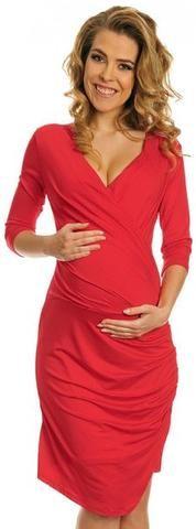 Foxy Nursing Friendly V-Neck dress