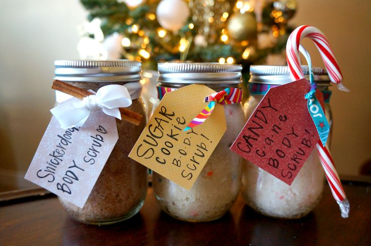 Making creative presents for friends and family has never been easier! These adorable Sugar Body Scrubs are so easy to whip up in any scent you want.