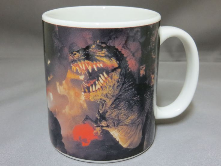 Dinosaur Jurassic Park River Ride Universial Studios Coffee Mug Cup Souvenir New