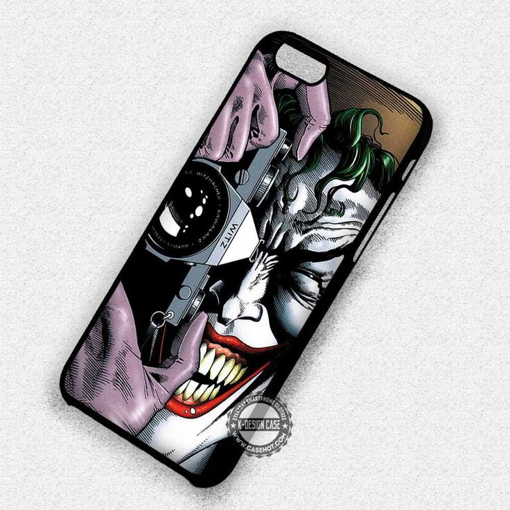Say Cheese to Joker - iPhone 7 6 Plus 5c 5s SE Cases & Covers