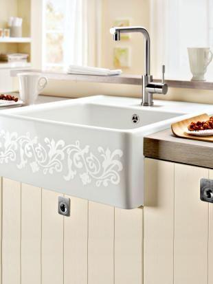 Ergonomische Spülen und innovatives Wasserhahn-Design | Zuhause Wohnen