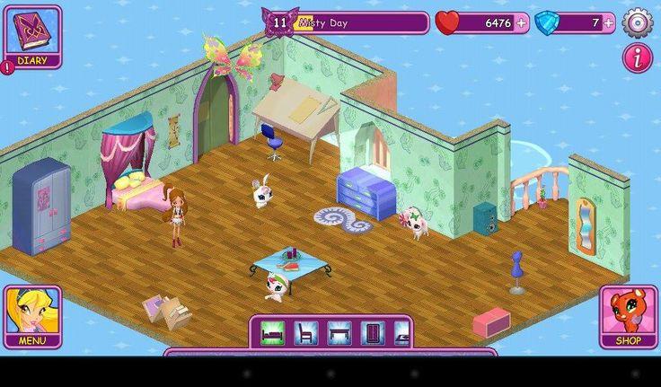 Winx Fairy School dorm by Misty Day