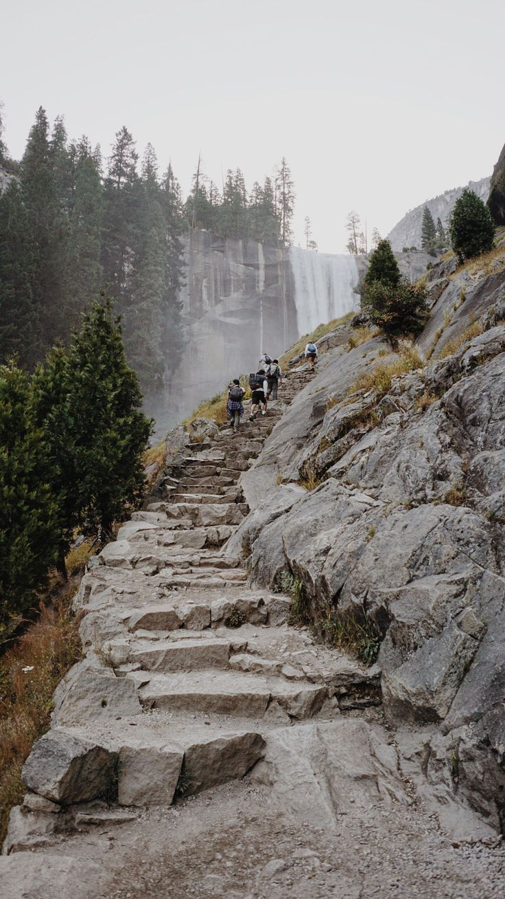 Mist Trail to Vernal Falls | Yosemite