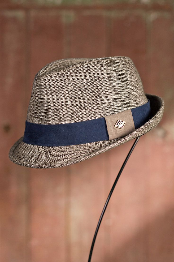 The Bastion Goorin Brothers Fedora Hat by Overland Sheepskin Co. (style 79783)